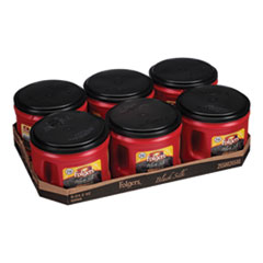 Coffee, Black Silk, 24.2 oz Canister, 6/Carton