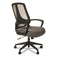 Alera MB Series  Mesh Mid-Back Office Chair, Gray/Black