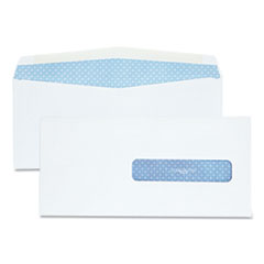 Security Tinted Insurance Claim Form Envelope, Commercial Flap, Gummed Closure, 4.5 x 9.5, White, 500/Box