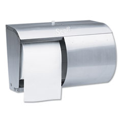 Pro Coreless SRB Tissue Dispenser, 7 1/10 x 10 1/10 x 6 2/5, Stainless Steel