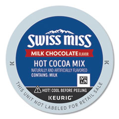 Milk Chocolate Hot Cocoa K-Cups, 96/Carton