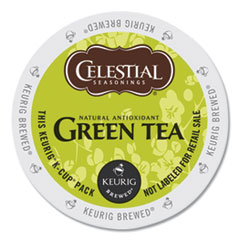 Green Tea K-Cups, 24/Box