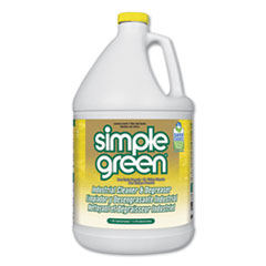 Industrial Cleaner and Degreaser, Concentrated, Lemon, 1 gal Bottle, 6/Carton