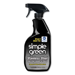 Stainless Steel One-Step Cleaner & Polish, 32oz Spray Bottle