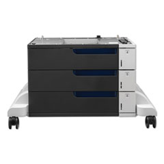 Paper Feeder And Stand for LaserJet CP5525, 3 Drawers of 500 Sheets