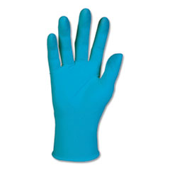 G10 Blue Nitrile Gloves, General Purpose, 242 mm Length, Small