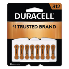 Hearing Aid Battery, #312, 8/Pack