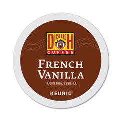 French Vanilla K-Cup Pods, French Vanilla, 0.31 oz, K-Cup, 24/Box