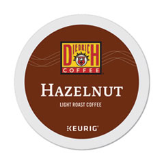 Hazelnut K-Cup Pods, Hazelnut, 0.31 oz, K-Cup, 24/Box