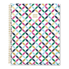 Cambridge Blair Geo Academic Customizable Planner, 11 X 8 1/2, Blair Geo, 2019-2020
