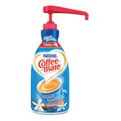 Liquid Coffee Creamer, French Vanilla, 1500mL Pump Bottle