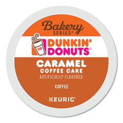 K-Cup� Pods, Caramel Coffee Cake, 24/Box