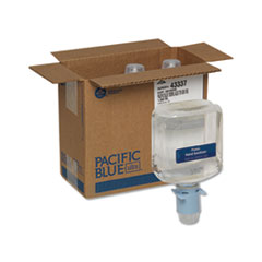 Pacific Blue Ultra Automated Sanitizer Dispenser Refill, 1000 mL Bottle, 3/CT