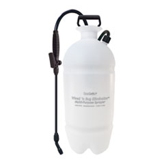 Standard Sprayer, Wand w/Nozzle, 2gal, Polyethylene, White/Black