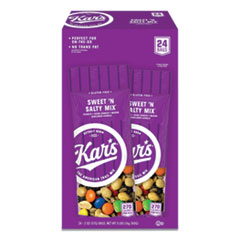 Kar'Snuts Caddy, Sweet 'N Salty Mix, 2 Oz Packets, 24/Box