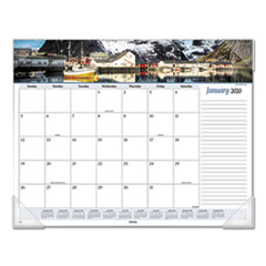 Seascape Panoramic Desk Pad, 22 x 17, 2020