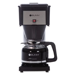 10-Cup Velocity Brew BX Coffee Brewer, Black, Stainless Steel