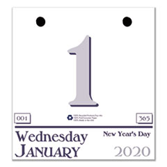Recycled Today Wall Calendar Refill, 6 x 6, 2019