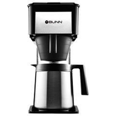 Bunn 10-Cup Velocity Brew Bt Thermal Coffee Brewer, Black, Stainless Steel