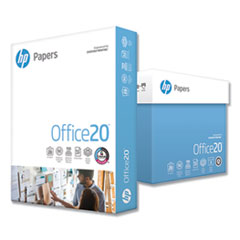 Office20 Paper, 92 Bright, 20lb, 8.5 x 11, White, 2, 500/Carton