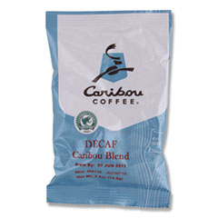 Decaf Caribou Blend Coffee Fractional Packs, 2.5 oz, 18/Carton