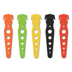 "Safety Cutter, 5.75"", Assorted, 5/Pack"