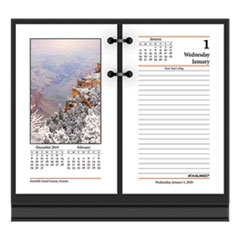 At-A-Glance Photographic Desk Calendar Refill, 3 1/2 X 6, 2020