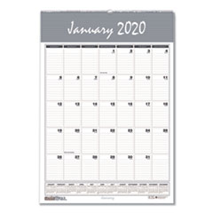 Recycled Bar Harbor Wirebound Monthly Wall Calendar, 8 1/2 x 11, 2020