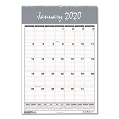 Recycled Bar Harbor Wirebound Monthly Wall Calendar, 22 x 31 1/4, 2020