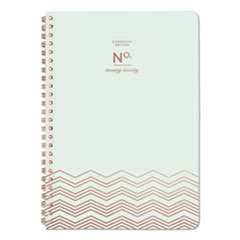 Cambridge Workstyle Soft Cover Weekly/Monthly Planner 8 1/2 X 5 1/2, Seafoam Cover, 2020