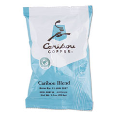 Caribou Blend Ground Coffee, 2.5 oz, 18/Carton