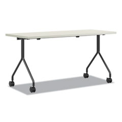 Between Nested Multipurpose Tables, 72 x 24, Silver Mesh/Loft