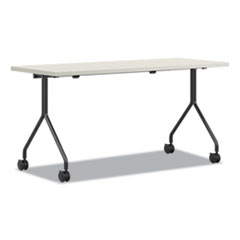 Between Nested Multipurpose Tables, 60 x 24, Silver Mesh/Loft