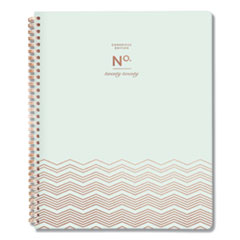 Workstyle Soft Cover Weekly/Monthly Planner, 11 x 8 1/2 Seafoam Cover, 2020