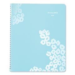 At-A-Glance Wild Washes Weekly/Monthly Planner, 11 X 8 1/2, Floral, Animal, 2020