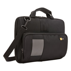 Guardian Work-In Case with Pocket, Polyester, 13 x 2 2/5 x 9 4/5, Black