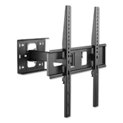 "Full-Motion TV Wall Mount for Monitors 32"" to 55"", 0.75w x 0.5d x 1.63h"