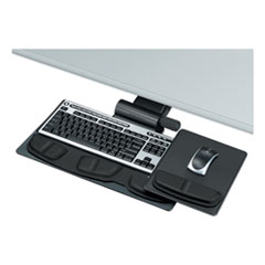 Professional Premier Series Adjustable Keyboard Tray, 19w x 10-5/8d, Black