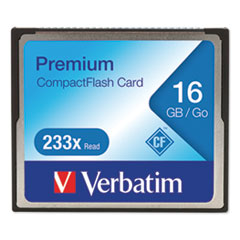 16GB 233X Premium CompactFlash Memory Card