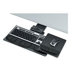 Professional Executive Adjustable Keyboard Tray, 19w x 10-5/8d, Black
