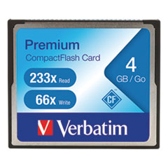 4GB 66X Premium CompactFlash Memory Card