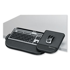 Tilt 'n Slide Keyboard Manager with Comfort Glide, 19.5w x 11.5d, Black