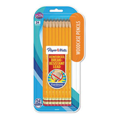 EverStrong #2 Pencils, HB (#2), Black Lead, Yellow Barrel, 24/Pack