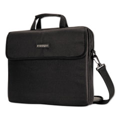 "17"" Simply Portable Padded Laptop Sleeve, Interior/Exterior Pockets, Black"