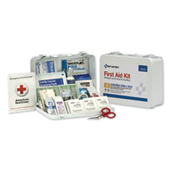 ANSI Class A 25 Person Bulk First Aid Kit for 25 People, 89 Pieces