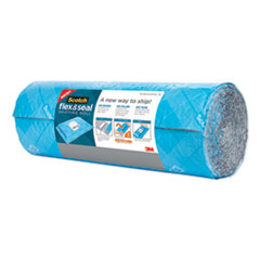 "Flex and Seal Shipping Roll, 15"" x 10 ft, Blue/Gray"