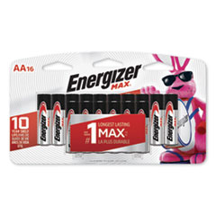 BATTERY,MAX ALK AA,16/PK