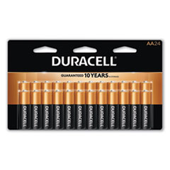 CopperTop Alkaline Batteries, AA, 24/Box
