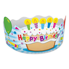 Student Crown, Birthday, 4 x 23 1/2, 30/Pack