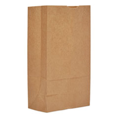 "Grocery Paper Bags, 12#, 7.06""w x 4.5""d x 13.75""h, Kraft, 500 Bags"